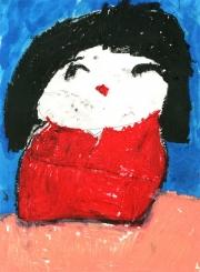 Sasha-6-yrs-(oil-pastel)